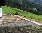 Bauarbeiten Marienberg Alm Juni 2017