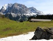Ortstermin Seeben Alm – Gebaut werden Steinschlagschutz und Gastankanlage