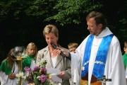 Einsegnung der Bachkapelle am Lehnbach