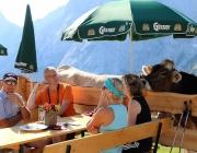 """""""Dorffest"""" auf der Mieminger Hochfeldern Alm"""