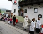 Erntedank 2012 in Untermieming – Mit Traktorweihe