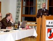 Freiwillige Feuerwehr Mieming – Jahreshauptversammlung 2015