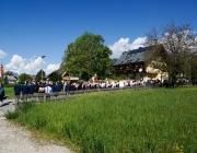 Fronleichnam 2016 in Untermieming – Messe, Prozession und Festl