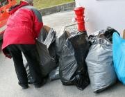 Frühjahrsputz 2013 in Mieming – 50 Prozent weniger Müll als in den Vorjahren