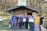 Frühjahrsschafbad 2018 in Fiecht – Mit Ehrungen für zwei verdiente Schafer