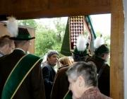 Herz-Jesu-Fest 2014 in Barwies – Prozession fiel ins Wasser
