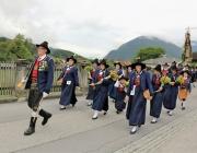 Isidori-Prozession in Untermieming – Fest mit der Musikkapelle Silz