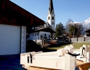 """Ratschen im Kirchturm Untermieming - """"Z'sammz'läuten zum Gebet"""""""
