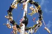 Maifest und 6. Braunviehschau 2011 am Badesee in Mieming