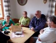 Marienberg Alm - Besuch beim neuen Hüttenwirt