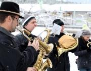Tradition zum Jahreswechsel - Silvesterblasen der Musikkapelle Mieming