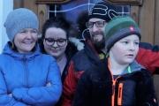 A guets Nuis 2018 allen in Mieming! – Die Musikkapelle überbrachte ihre Neujahrsgrüße heuer an einem Sonntag
