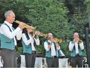 Sommernachtsfest 2016 Musikkapelle im Paradeisl
