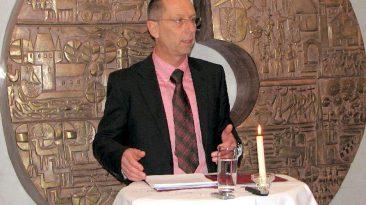 Bürgermeister Dr. Franz Dengg beim Neujahrsempfang 2012 in Mieming, Foto: Anni Fischer