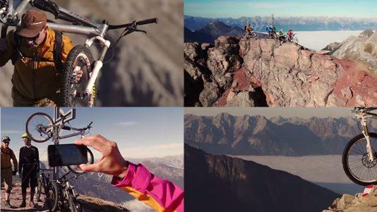 Traumabfahrten für extreme Mountainbiker. Fotos: Vertriders-Mountainbiken/Mieming.online