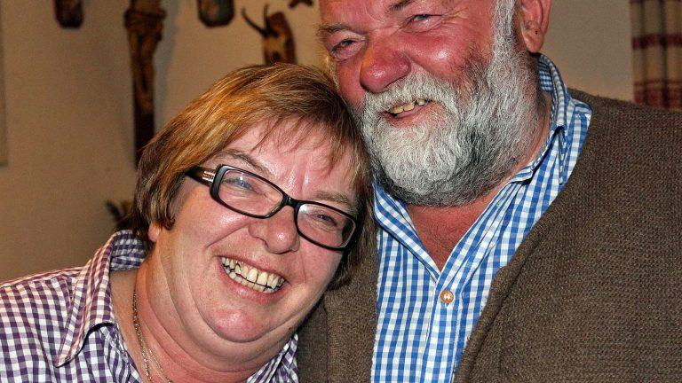 """40 Jahre Marienberg Alm - """"das waren 40 Jahre Flitterwochen"""", sagen Annemarie und Herbert Schuchter, Foto: Knut Kuckel"""