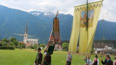 Fronleichnamsprozession in Mieming, Foto: Knut Kuckel