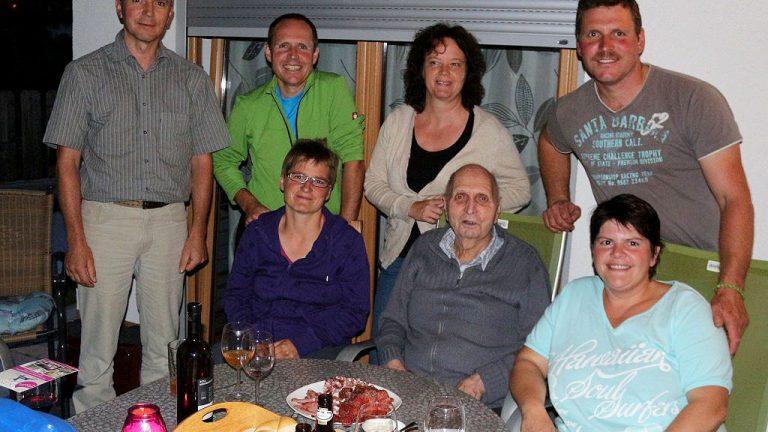 Alt-Bürgermeister Karl Spielmann feiert Geburtstag im Familienkreis, Foto: Knut Kuckel