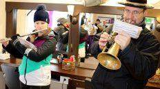 Tradition zum Jahreswechsel - Silvesterblasen der Musikkapelle Mieming, Fotos: Mieming.online