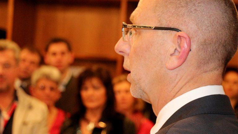 "Bürgermeister Franz Dengg: ""In Mieming leben mehr Frauen als Männer"", Foto: Knut Kuckel"