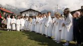 Erstkommunionkinder in Barwies; Fotos: Martin Strickner/solopix.at