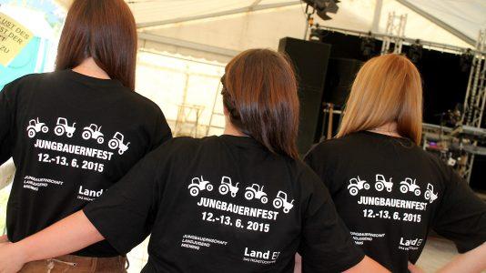 """Das neue """"Jungbauernfest"""" - mehr als Experiment? Foto: Lena Krug"""