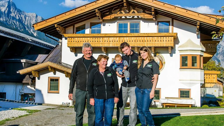 Der Michelerhof ist ein erfolgreiches Unternehmen der Familie Kranebitter in Fiecht, Foto: Margit Offer