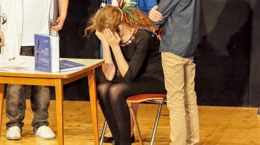 NMS-Tanztheater, Thema Multiple Sklerose, Foto: Andreas Fischer