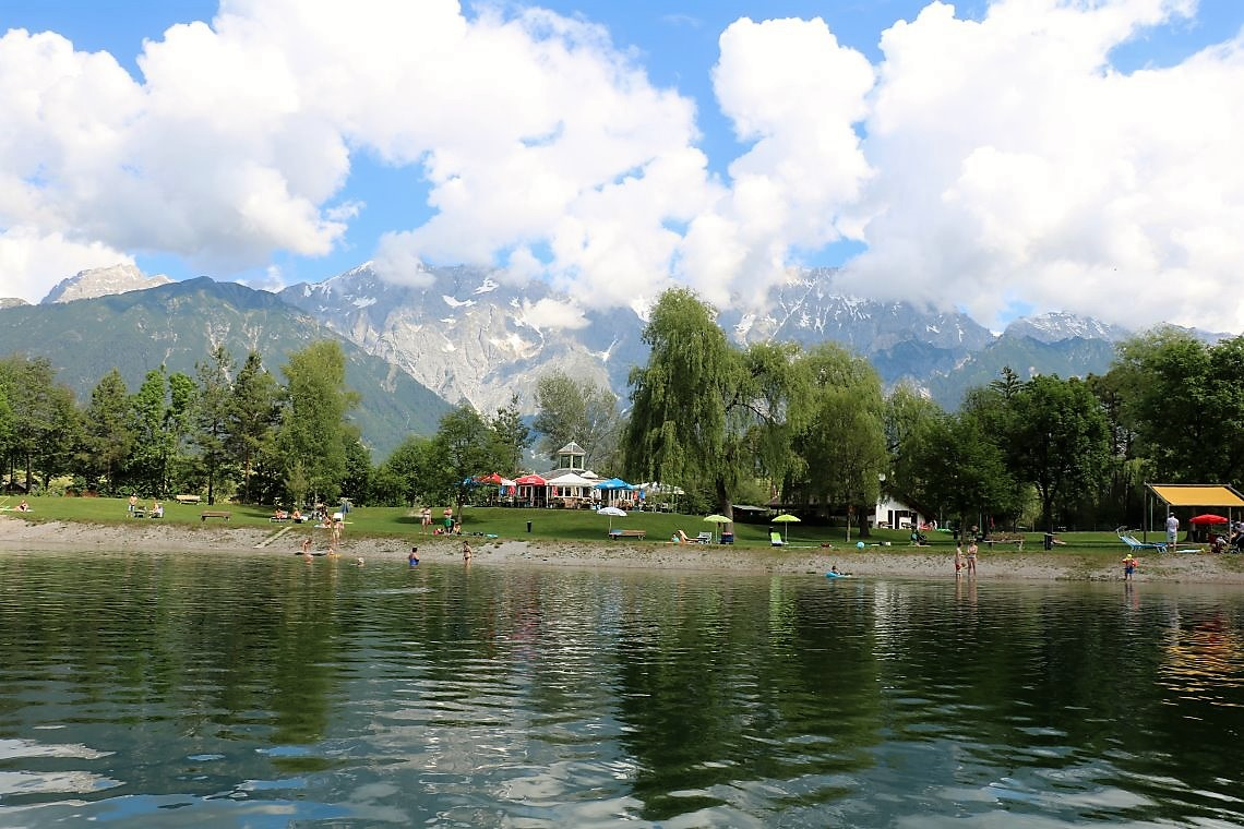 Badesee-Sommer in Mieming, Foto: Knut Kuckel