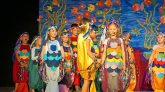 """Kinder aus Barwies spielen das Musical """"Der Regenbogenfisch"""", Foto: Andreas Fischer"""