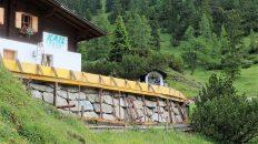 Bauarbeiten auf der Marienberg Alm, Foto: Knut Kuckel