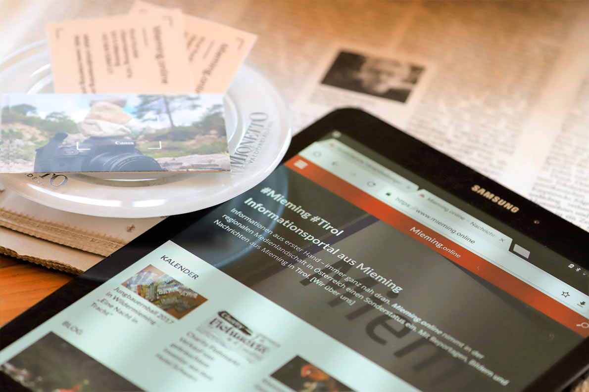 Mieming-Blog - mit Nachrichten, Reportagen und Bildern aus Mieming. Foto: Mieming.online
