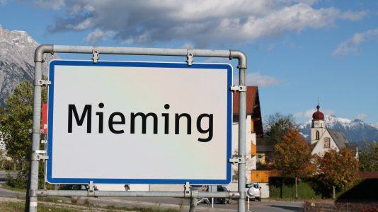 Gemeinde Mieming, Tirol, Österreich. Foto: Knut Kuckel/Mieming.online
