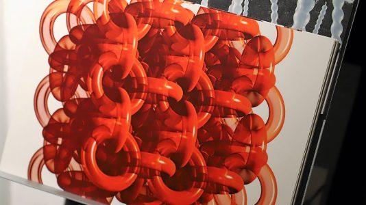 "Ausstellung Reinhold Neururer - ""Digitales"", Foto: Knut Kuckel"