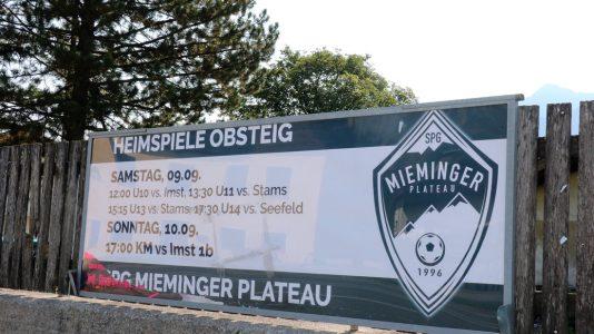 Der Ball rollt wieder - Heimspiel der SPG Mieminger Plateau auf dem Sportplatz in Obsteig, Foto: Mieming.online