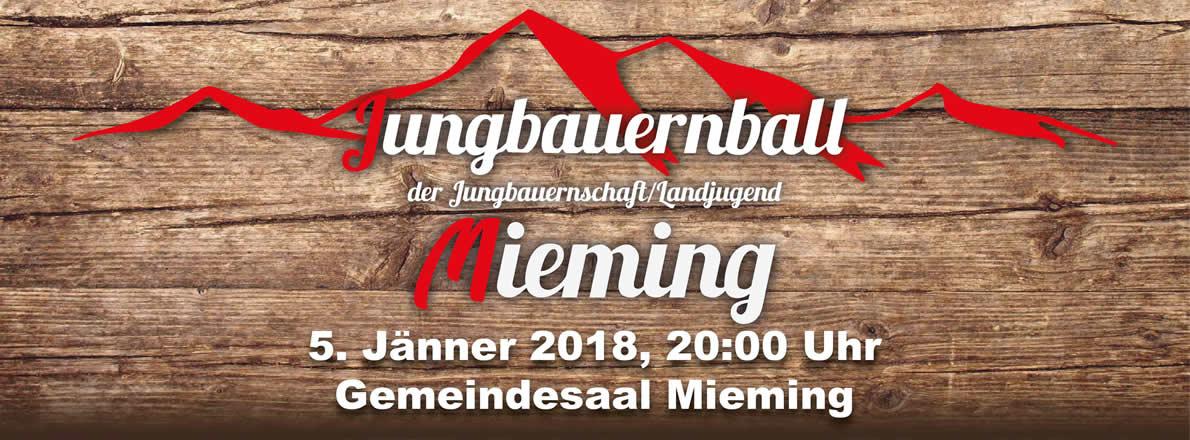 Jungbauernball 2018 Mieming, Foto: Jungbauern/Landjugend Mieming