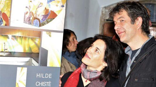 """Hilde Chistè-Ausstellung im Kunst-Werk-Raum - """"Bilder zur Freude"""", Foto: Knut Kuckel"""