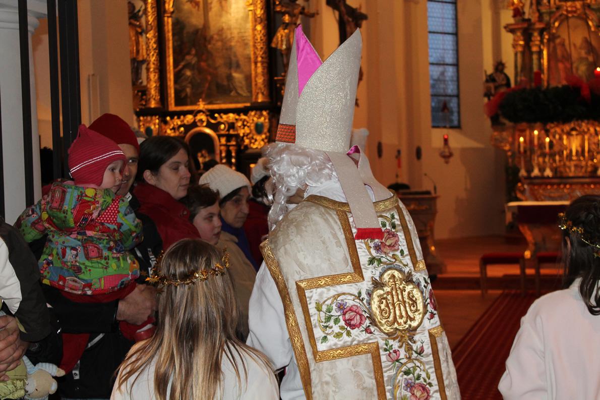 Der heilige Nikolaus in der Pfarrkirche Barwies, Foto: Knut Kuckel