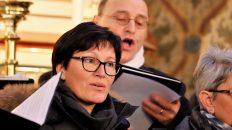 """Emotionaler Höhepunkt der Weihnachtsmesse war das gemeinsam gesungene """"Stille Nacht, heilige Nacht"""". Foto: Knut Kuckel"""