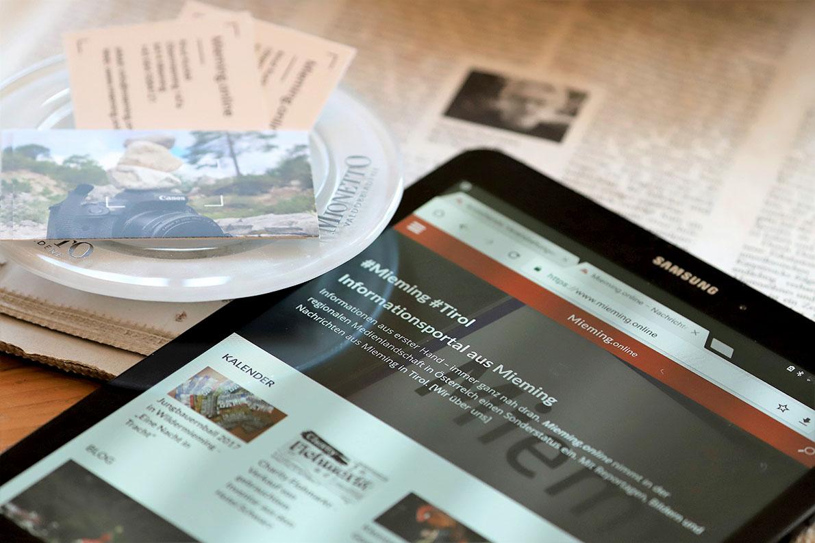 Mieming.online - Datenschutz. Foto: Mieming.online