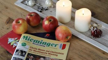 Mieminger Dorfzeitung, Nr. 10, 14. Dezember 2017. Foto: Mieming.online
