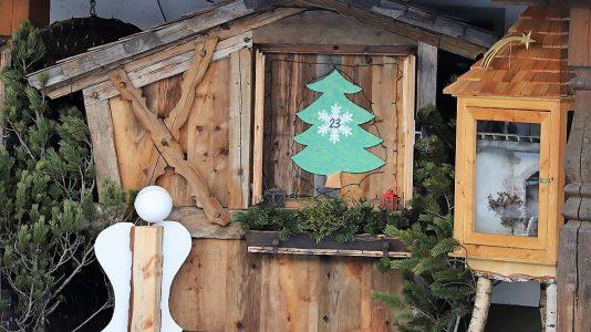 Mieminger Adventkalender am Annelerhof der Familie Schneider in Untermieming, Foto: Knut Kuckel/Mieming.online