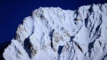 Mieminger Berge in unberührtem Schnee, Foto: Knut Kuckel