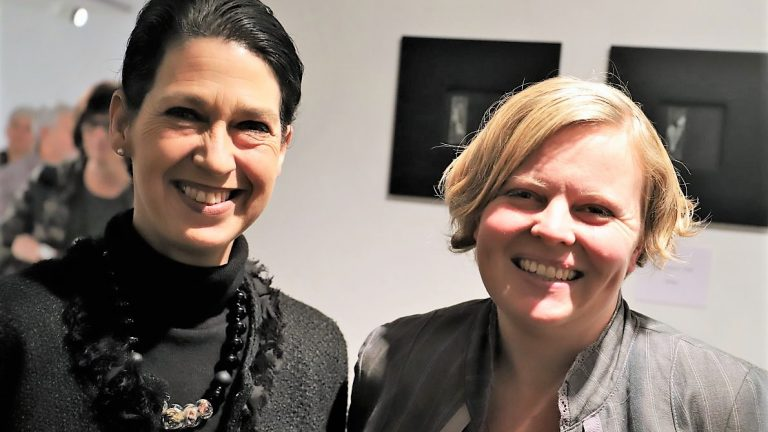 Vernissage mit Mona Friedl-Oberhofer und Elisabeth Trenkwalder in Mieming, Foto: Knut Kuckel