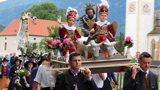Isidori-Prozession in Untermieming. Foto: Knut Kuckel/Mieming.online