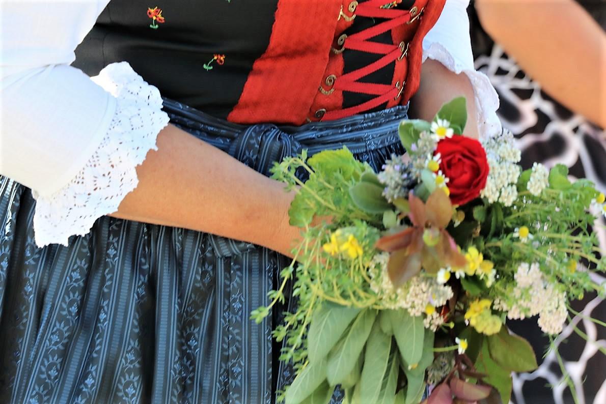 Mariä Himmelfahrt - Prozession in Untermieming. Foto: Knut Kuckel/Mieming.online