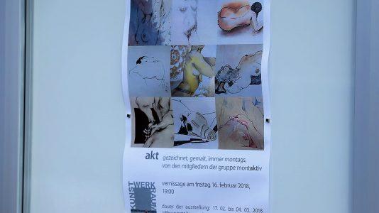 """Ausstellung zum Thema """"Akt"""" im Kunst-Werk-Raum in Mieming, Foto: Mieming.online"""
