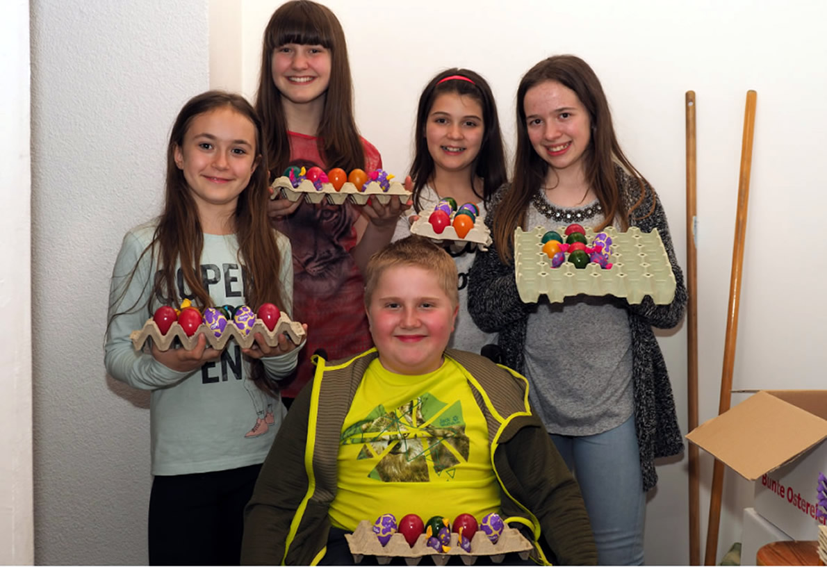 Ostereierschießen - Kindersonntag, Foto: Mieming.online