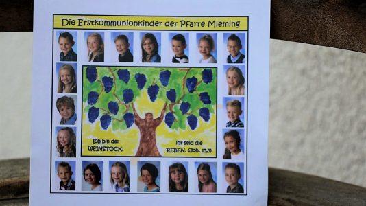 Erstkommunion in Mieming - 20 Kinder feiern in der Pfarrkirche Untermieming. Foto: Knut Kuckel/Mieming.online