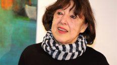 """Die Malerien und Restauratorin Charlotte Friedl lädt zur Ausstellung """"84,87"""". Zu sehen bis 22. April in Mieming. Foto: Knut Kuckel"""
